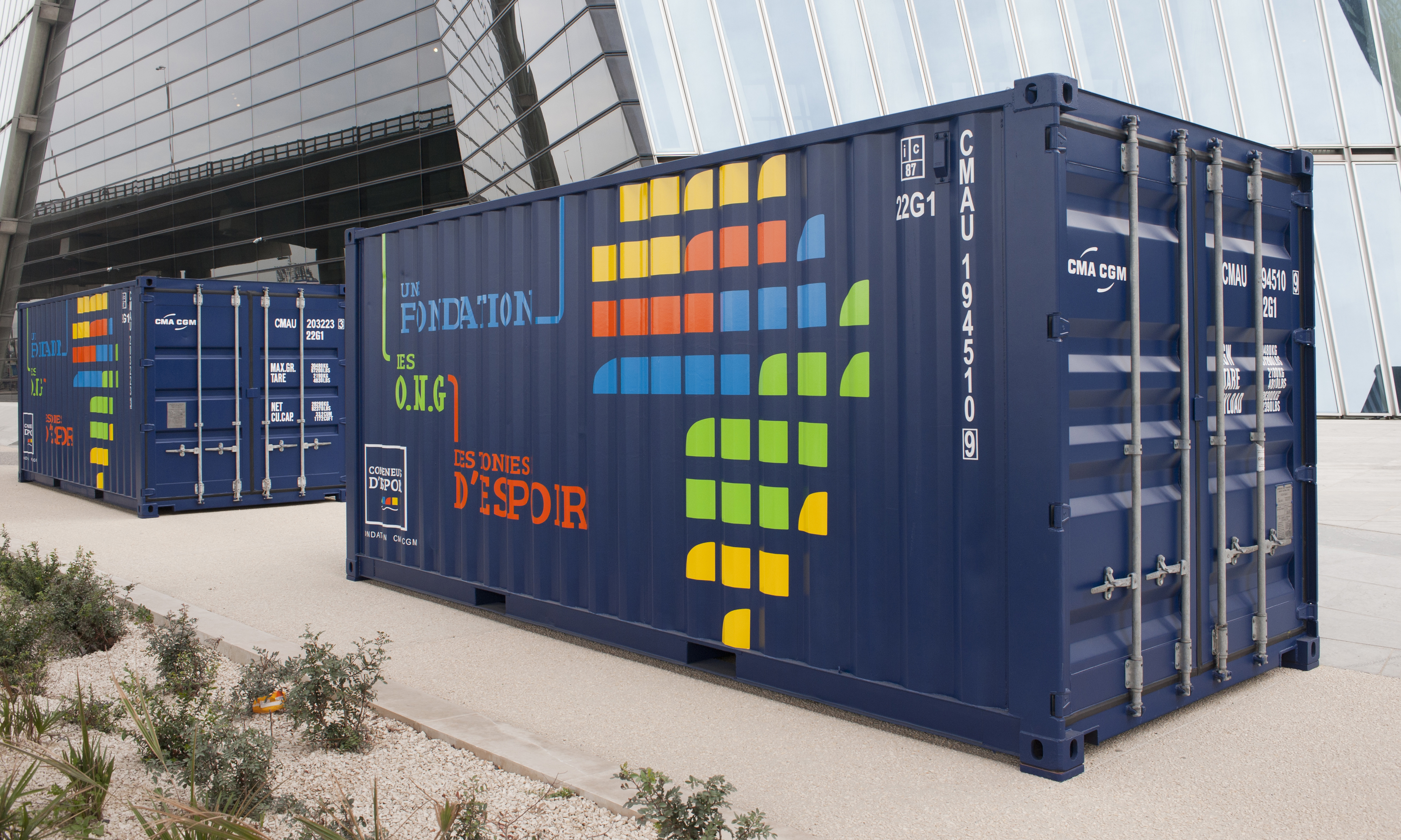 Containers Of Hope Consigmar Operador Log 237 Stico Desde 1974